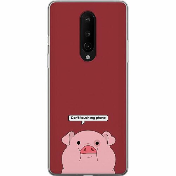 OnePlus 8 Mjukt skal - Touch My Phone