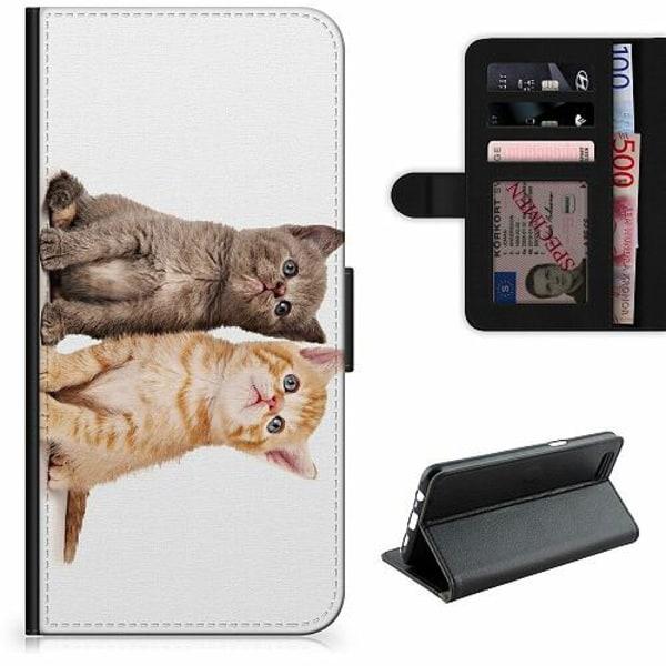 OnePlus 8 Pro Lyxigt Fodral Katter