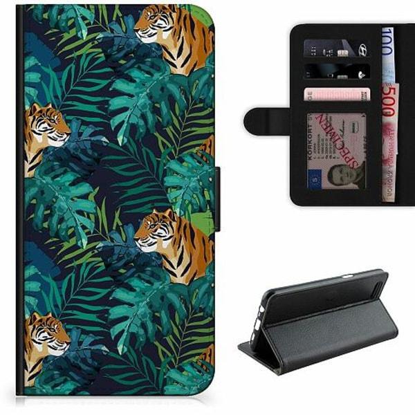 Samsung Galaxy A11 Lyxigt Fodral Tiger