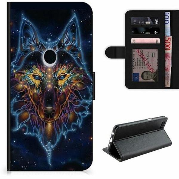 OnePlus 8 Pro Lyxigt Fodral Wolf / Varg