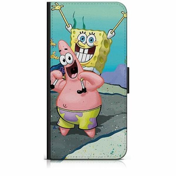 Apple iPhone 8 Plus Plånboksfodral SpongeBob Fyrkant