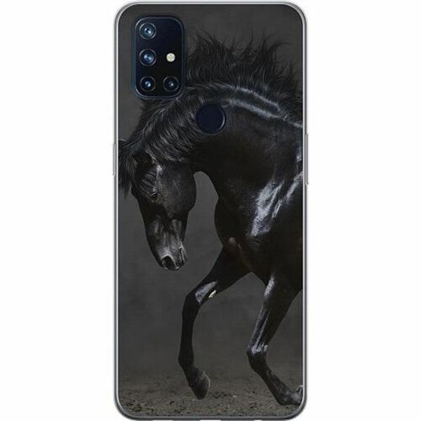 OnePlus Nord N10 TPU Mobilskal Häst / Horse