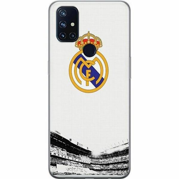 OnePlus Nord N10 TPU Mobilskal Real Madrid CF