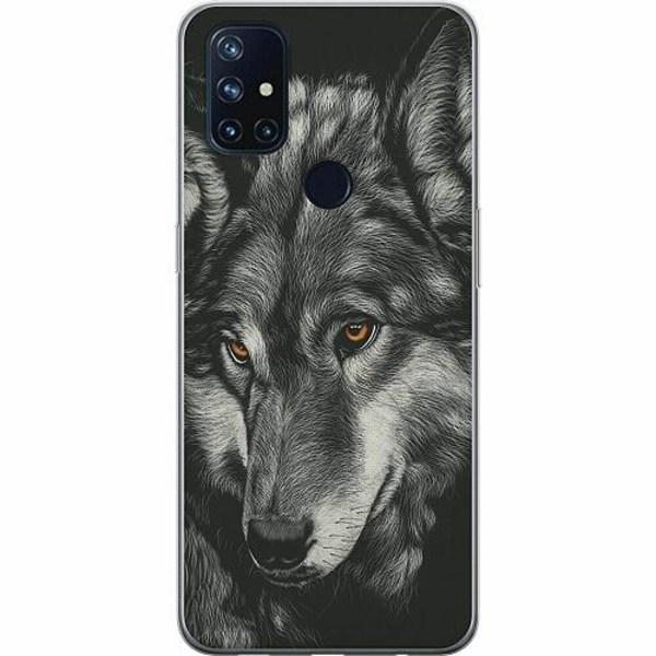 OnePlus Nord N10 TPU Mobilskal Wolf / Varg
