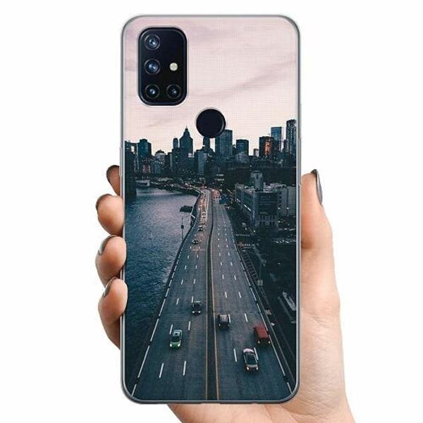 OnePlus Nord N10 TPU Mobilskal Pattern