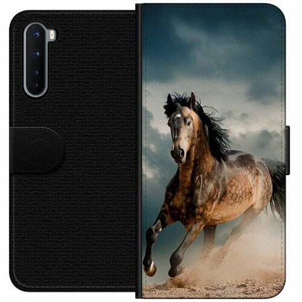 OnePlus Nord Wallet Case Häst