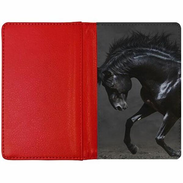 Passfodral Röd - Häst / Horse