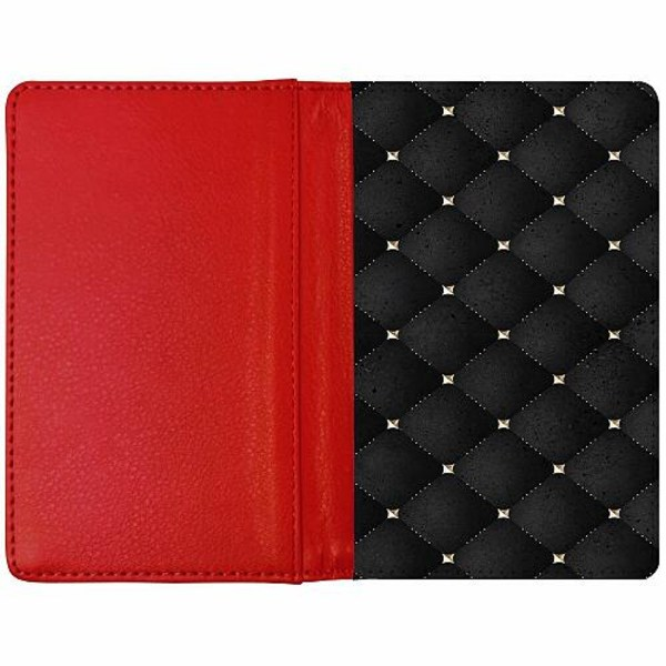 Passfodral Röd - Luxe
