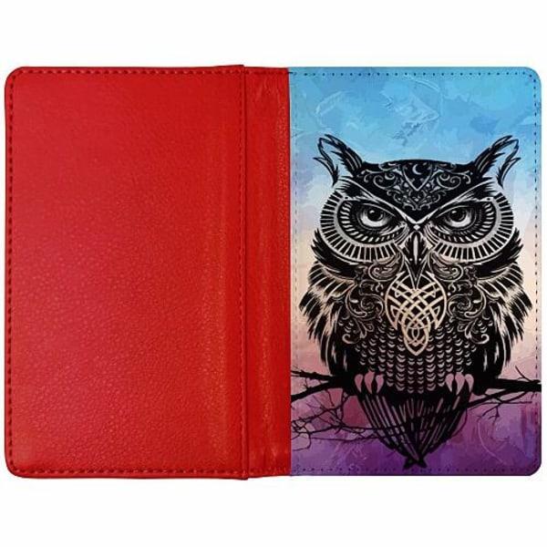 Passfodral Röd - Owl