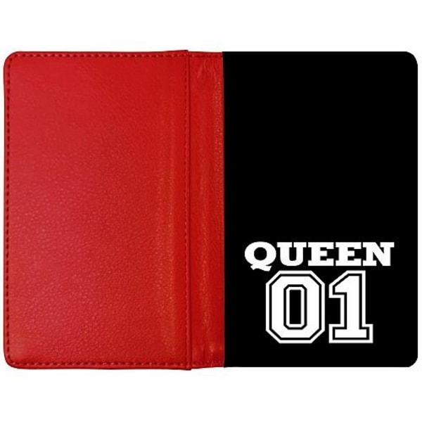 Passfodral Röd - Queen 01