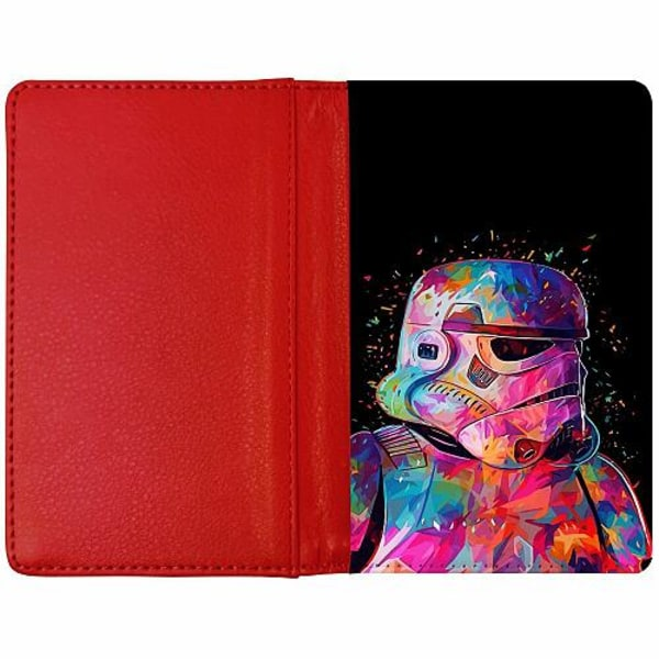Passfodral Röd - Star Wars Stormtrooper