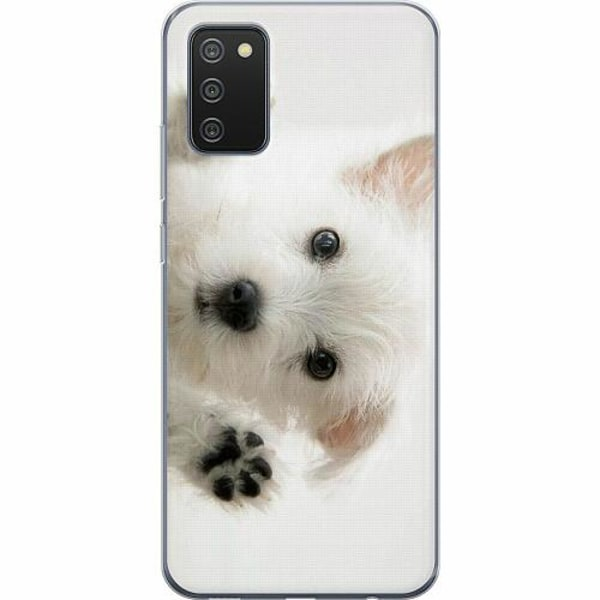 Samsung Galaxy A02s TPU Mobilskal Hund