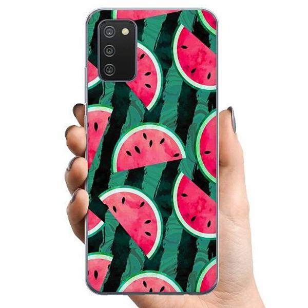 Samsung Galaxy A02s TPU Mobilskal Melon