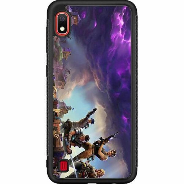 Samsung Galaxy A10 Soft Case (Svart) Fortnite