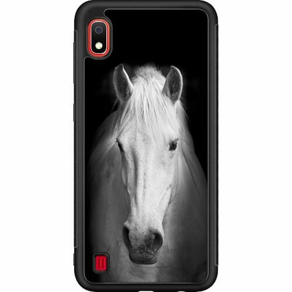Samsung Galaxy A10 Soft Case (Svart) Häst