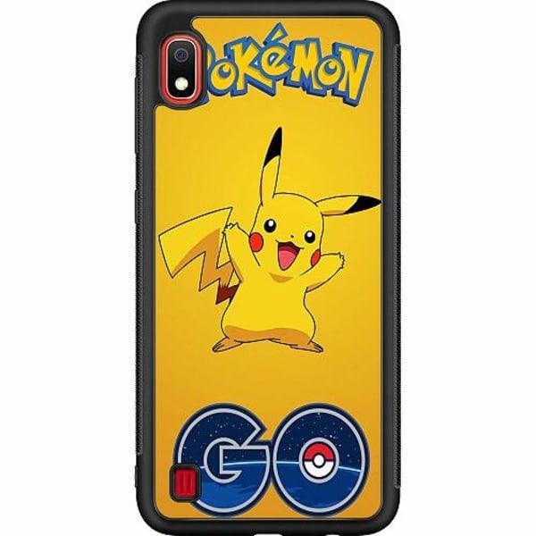 Samsung Galaxy A10 Soft Case (Svart) Pokemon