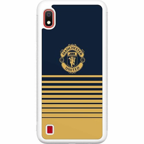 Samsung Galaxy A10 Soft Case (Vit) Manchester United FC