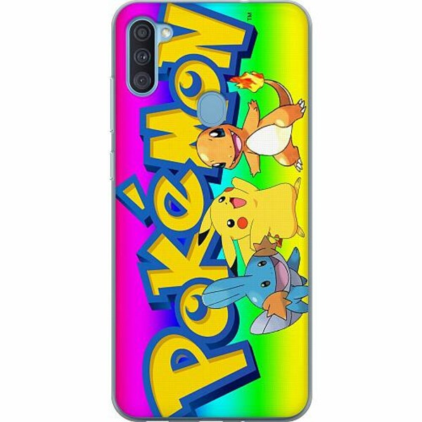 Samsung Galaxy A11 Thin Case Pokemon