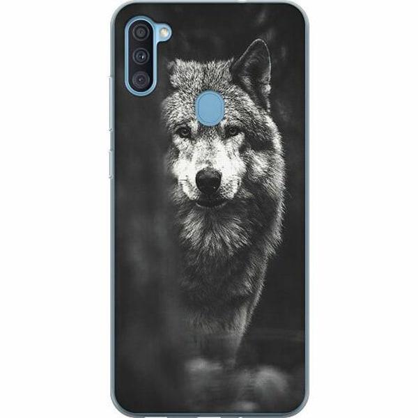 Samsung Galaxy A11 Thin Case Wolf / Varg