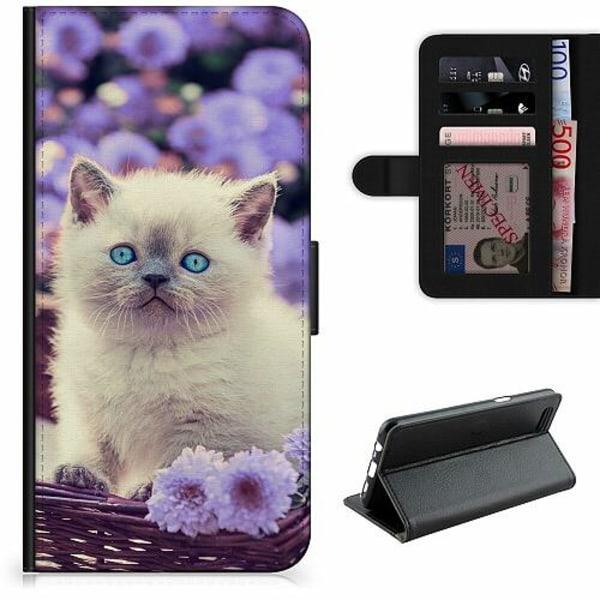 Samsung Galaxy A12 Lyxigt Fodral Katt