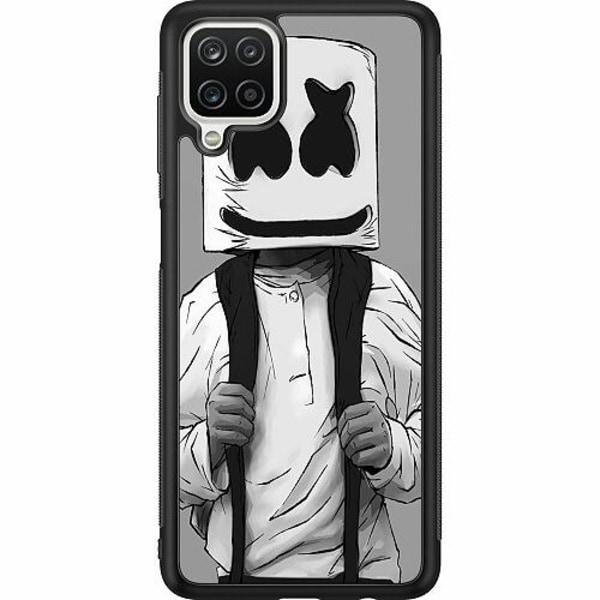Samsung Galaxy A12 Soft Case (Svart) Fortnite Marshmello