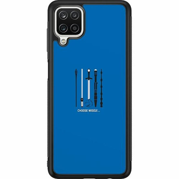 Samsung Galaxy A12 Soft Case (Svart) Harry Potter