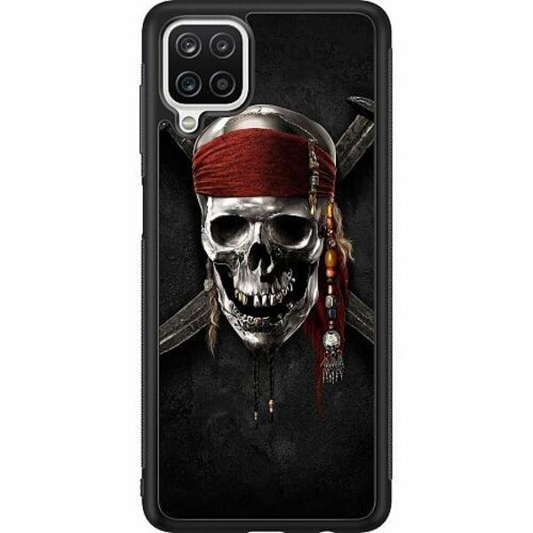 Samsung Galaxy A12 Soft Case (Svart) Pirate