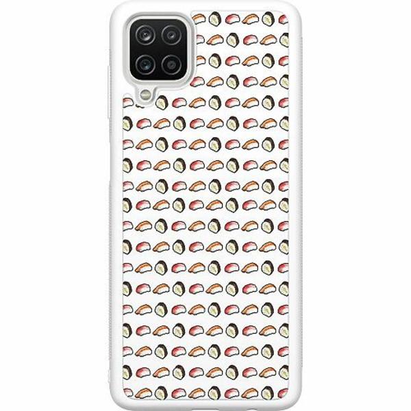Samsung Galaxy A12 Soft Case (Vit) Nimble Nigiri