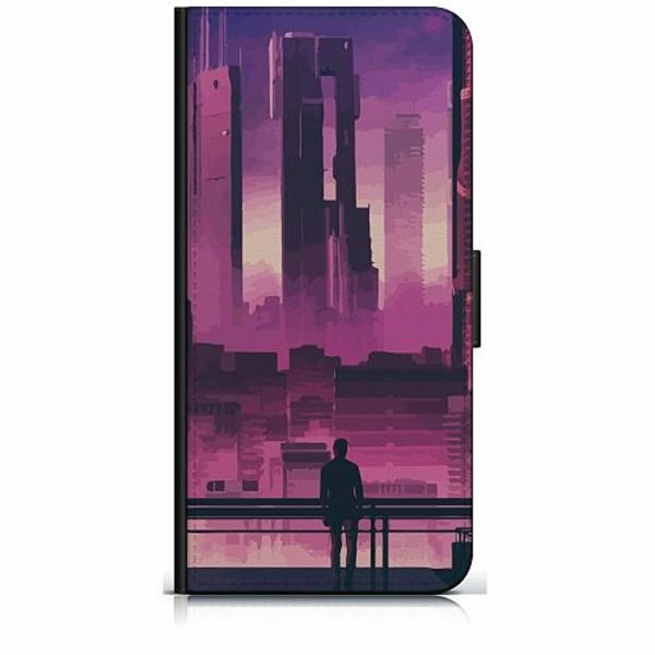 Samsung Galaxy J5 (2017) Plånboksfodral Cyberpunk 2077