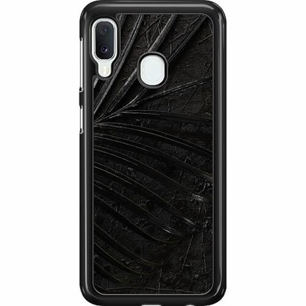 Samsung Galaxy A20e Hard Case (Svart) Charcoal Ash
