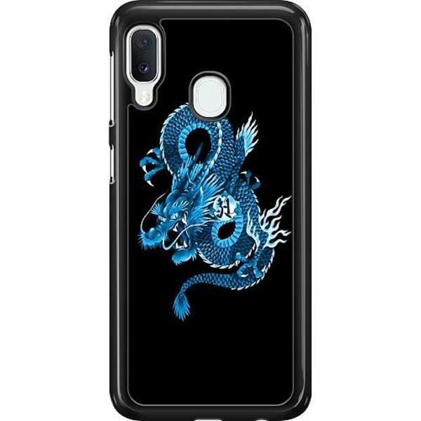 Samsung Galaxy A20e Hard Case (Svart) Drake