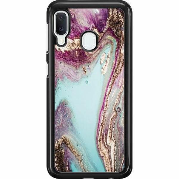 Samsung Galaxy A20e Hard Case (Svart) Fairy Dream