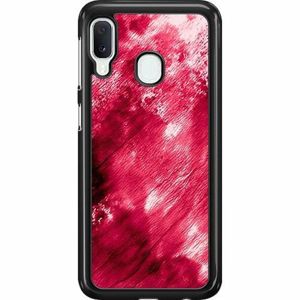 Samsung Galaxy A20e Hard Case (Svart) Fake Blood