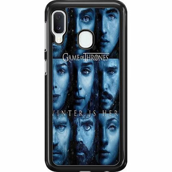Samsung Galaxy A20e Hard Case (Svart) Game of Thrones