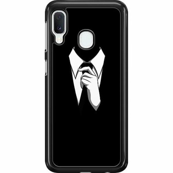 Samsung Galaxy A20e Hard Case (Svart) Gentleman
