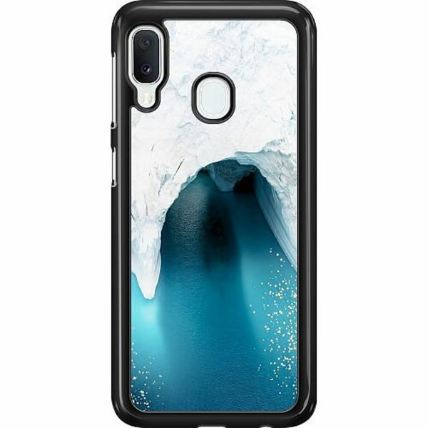 Samsung Galaxy A20e Hard Case (Svart) Glacier