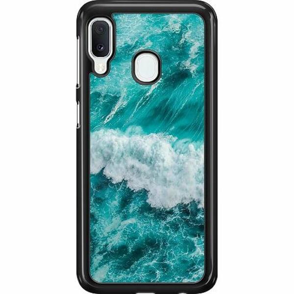 Samsung Galaxy A20e Hard Case (Svart) Hav