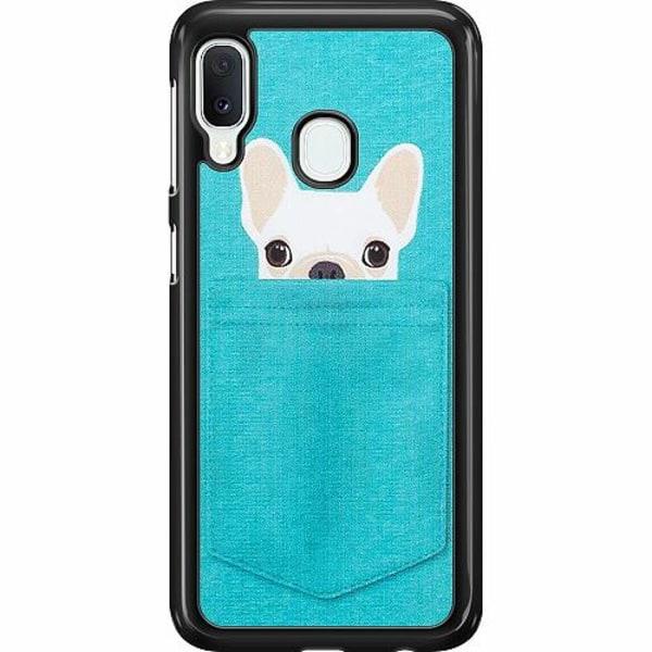 Samsung Galaxy A20e Hard Case (Svart) Hund
