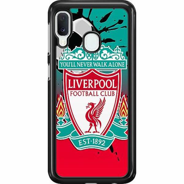 Samsung Galaxy A20e Hard Case (Svart) Liverpool