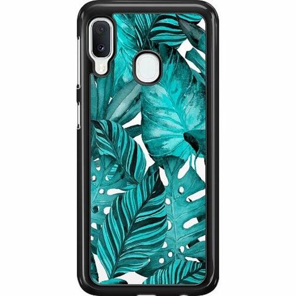 Samsung Galaxy A20e Hard Case (Svart) Löv