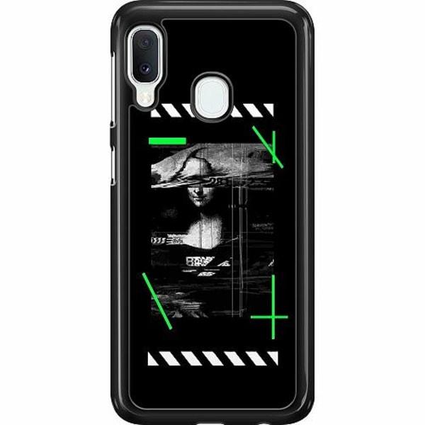 Samsung Galaxy A20e Hard Case (Svart) Mona L
