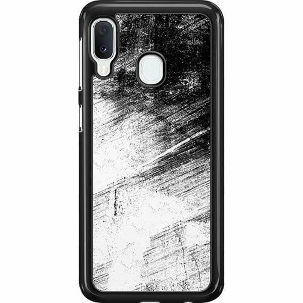 Samsung Galaxy A20e Hard Case (Svart) Mönster