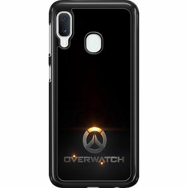 Samsung Galaxy A20e Hard Case (Svart) Overwatch