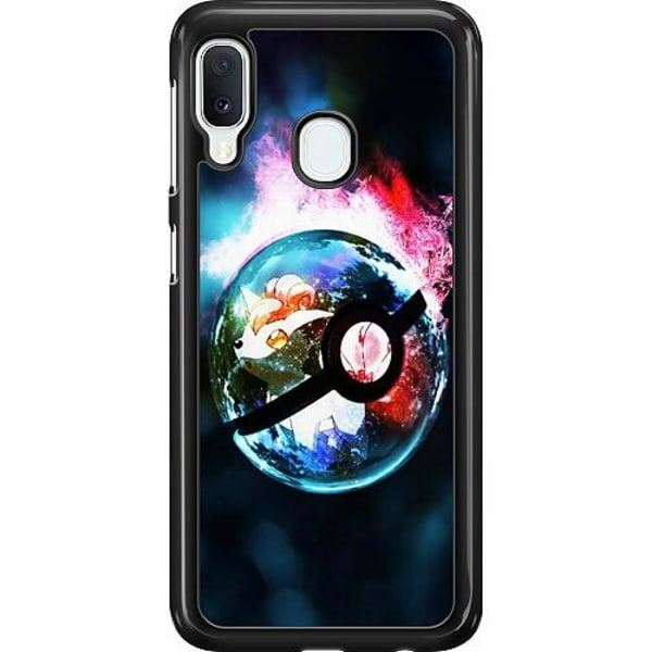 Samsung Galaxy A20e Hard Case (Svart) Pokémon GO