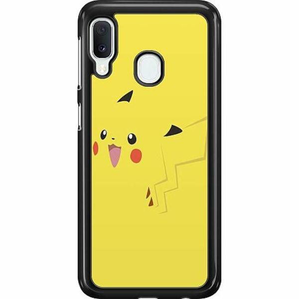 Samsung Galaxy A20e Hard Case (Svart) Pokémon: Pikachu