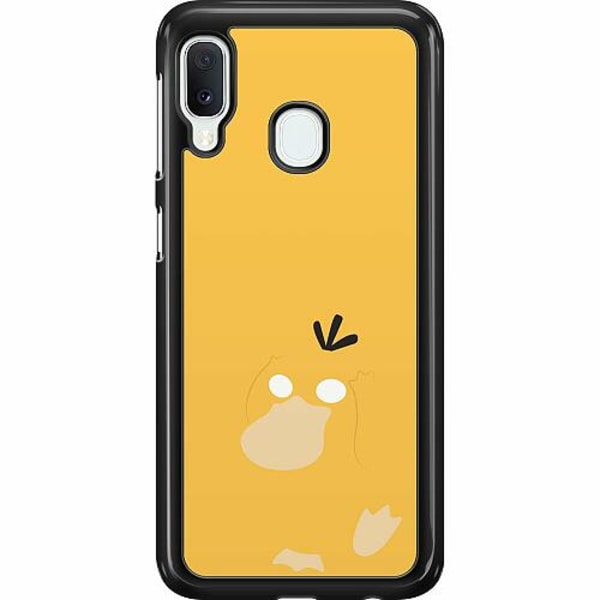 Samsung Galaxy A20e Hard Case (Svart) Pokémon - Psyduck