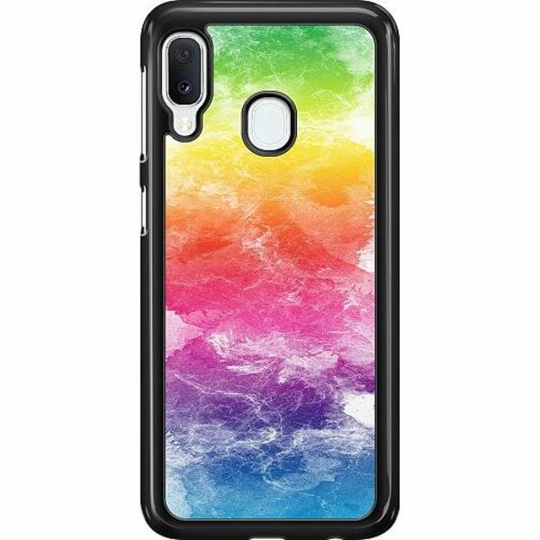 Samsung Galaxy A20e Hard Case (Svart) Pride