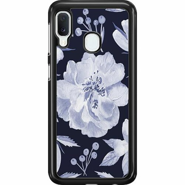 Samsung Galaxy A20e Hard Case (Svart) Rythm and Blue Hues