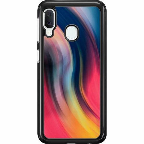 Samsung Galaxy A20e Hard Case (Svart) Startup