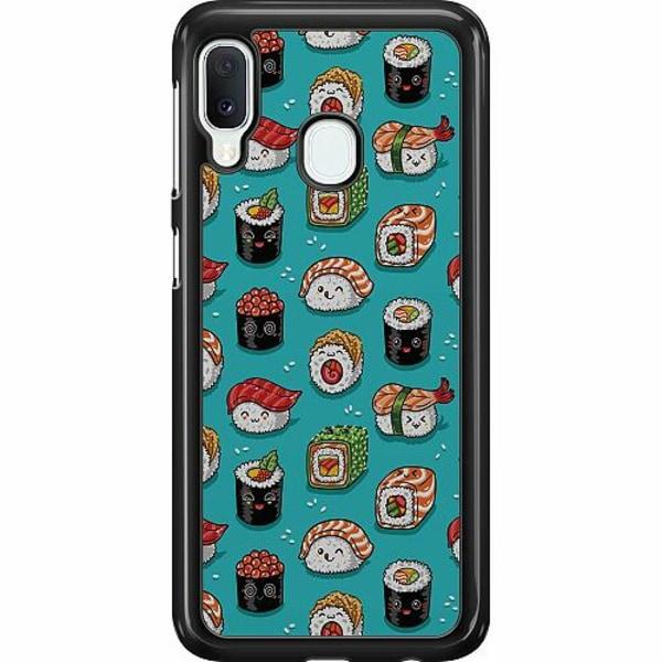 Samsung Galaxy A20e Hard Case (Svart) Sushi Sweeties